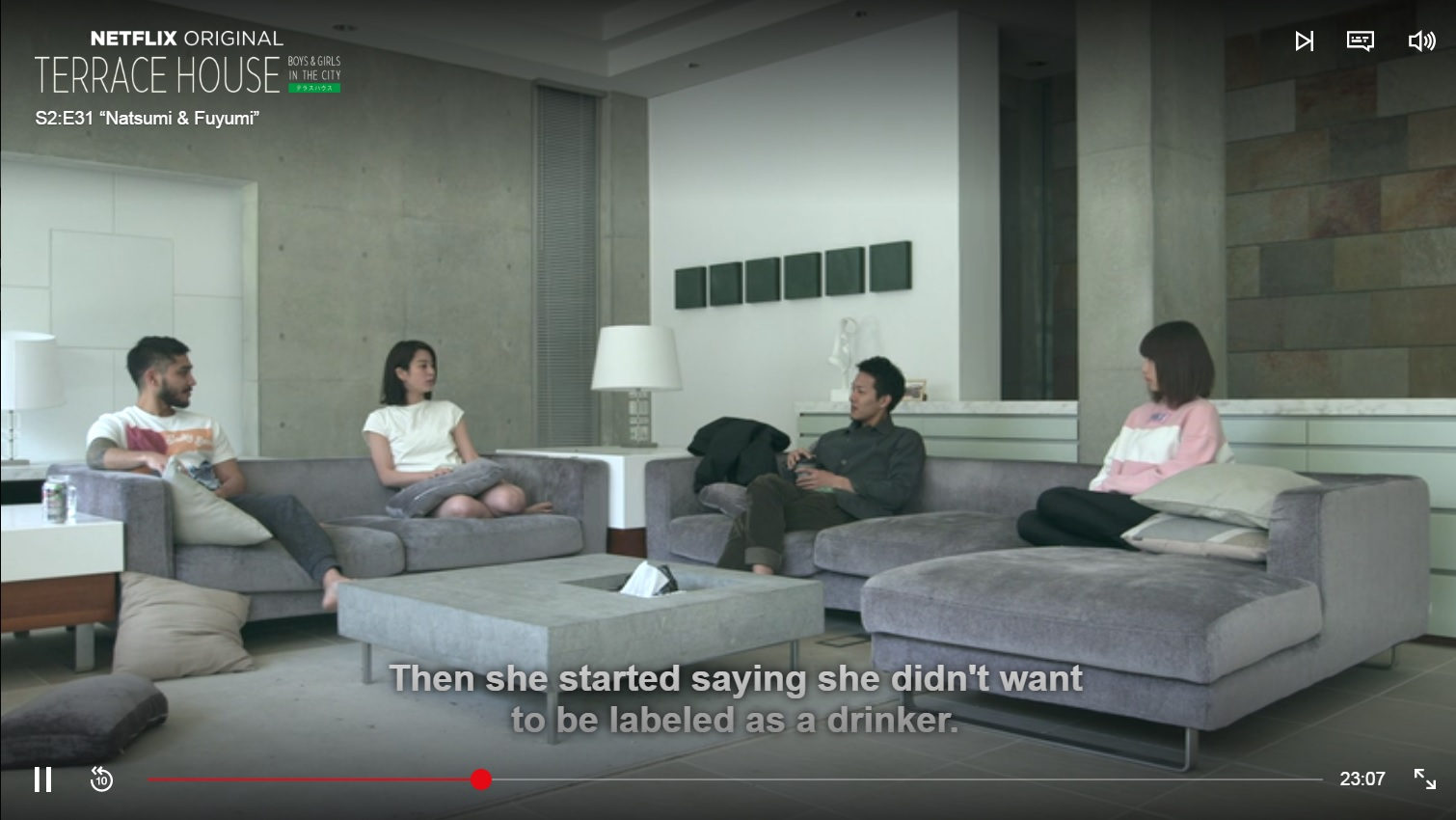 Netflix s terrace house is this the real life is this for Netflix terrace house